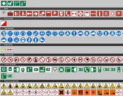 technische automatisering symbolen